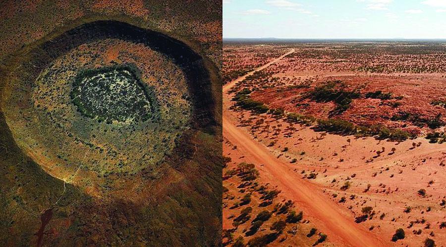 2 અબજ વર્ષ પહેલાના ઉલ્કાપાતથી સર્જાયેલી પશ્ચિમ ઓસ્ટ્રેલિયાની 43 માઇલ પહોળી યારાબુબ્બા ખીણ