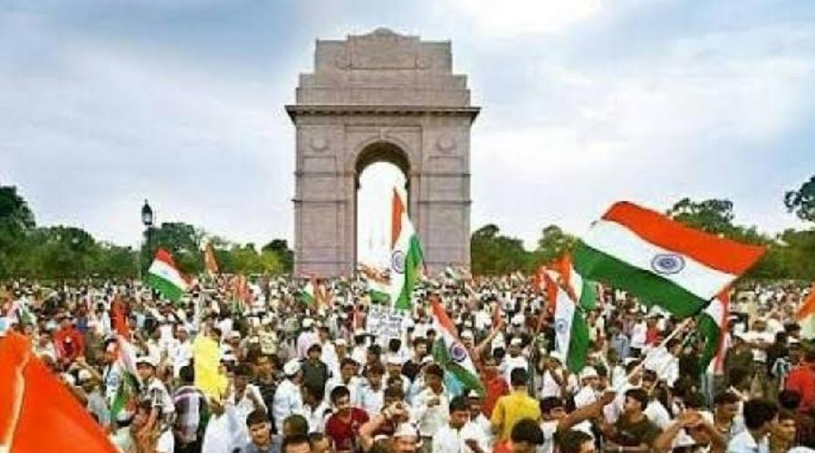 લોકશાહી વ્યવસ્થાના રેન્કીંગમાં ભારતની પીછેહઠઃ વિશ્વમાં 51મા ક્રમે ધકલાયું