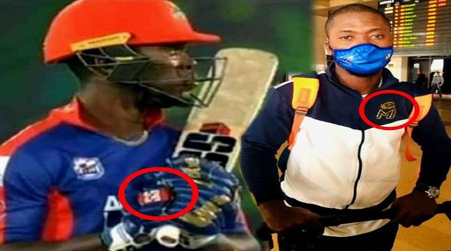 મુંબઈ ઈન્ડીયન્સનાં ગ્લોવ્સ પહેરી પાકિસ્તાન ટી-20 મેચ રમવા ઉતર્યો બેટ્સમેન, સોશિયલ મીડિયા પર હંગામો