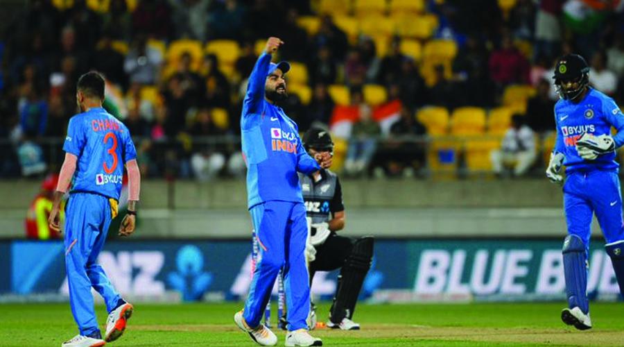 વેલિંગ્ટન ટી-20 પણ ટાઇ : સુપર ઓવરમાં ભારતે જીત મેળવી