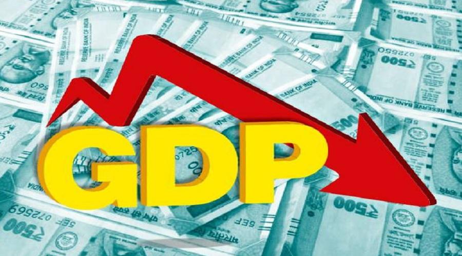 એપ્રિલ-જૂન ત્રિમાસિક ગાળાનો જીડીપી 23.9 ટકા ઘટ્યો