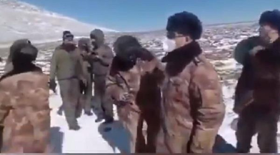સરહદ વિવાદ વચ્ચે ભારત-ચીન સૈનિકો વચ્ચેની ઝપાઝપીનો Video વાયરલ, જુઓ અહીં