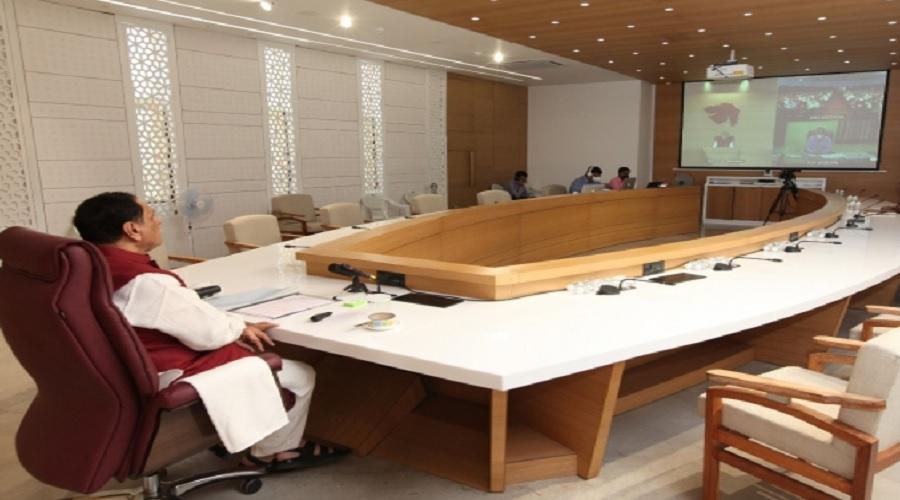 ગુજરાતની કોવિડ હોસ્પિટલોમાં ફાયર સુવિધા અંગે કોર કમિટીની બેઠકમાં વિચારણા