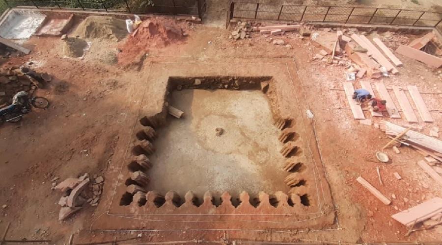 અકબરના નવરત્ન મહેલની સામે ખોદકામ, 16 મી સદીનો દુર્લભ 'ખજાનો' મળી આવ્યો